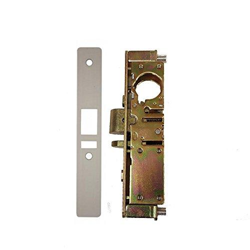 Kaba Ilco Storefront Door Mortise Deadlatch Adams Rite Style Lock in Aluminum , 1-1/8