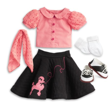 - American Girl Maryellen's Poodle Skirt Outfit