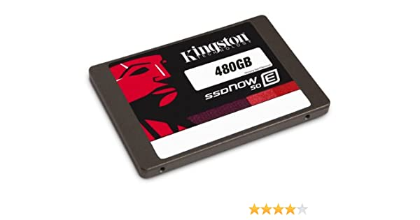 Kingston SSDNow E50 - Disco duro sólido interno SATA 3 de 480 GB ...