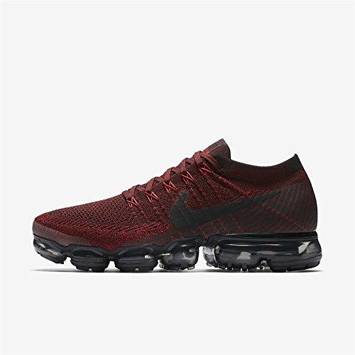 NIKE Herren Air VaporMax Flyknit Laufschuh (Dark Team Red)