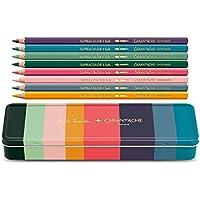 Caran d'Ache Boya kalemi seti (8 renk) Supracolor Soft, Paul Smith