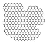 Bulk Buy: Crafter's Workshop Templates 6in. x 6in. Mini Chicken Wire (3-Pack)