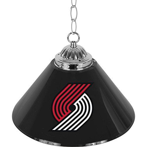 NBA Portland Trail Blazers Single Shade Gameroom Lamp, 14