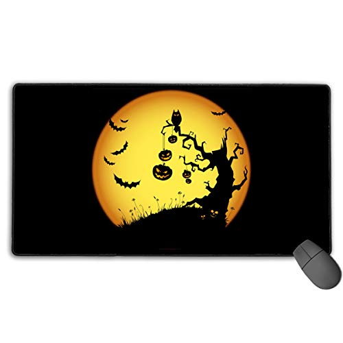 (Halloween Backgrounds Extended Mouse Pad)