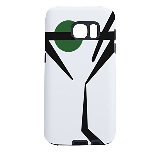 CafePress - Abstract Martini Glass - Samsung Galaxy S7 Phone Case