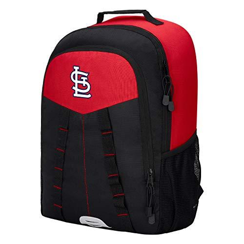 (Northwest 1MLB1C6603027RTL St. Louis Cardinals Scorcher Backpack, Black, One Size)