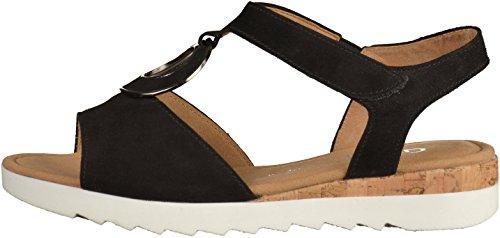 Gabor Ladies Comfort-62.745 Sandali Aperti Neri