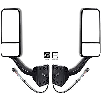 scitoo towing mirrors driver passenger. Black Bedroom Furniture Sets. Home Design Ideas