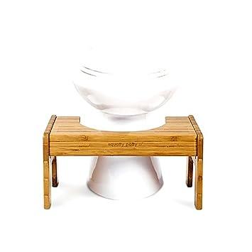 Super Amazon Com Tao Bamboo Adjustable Toilet Stool Squatty Evergreenethics Interior Chair Design Evergreenethicsorg