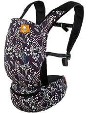 Tula Lite Babydraagzak en draagzak in één, licht compact ergonomisch, buikdrager rugdrager reisbabydrager