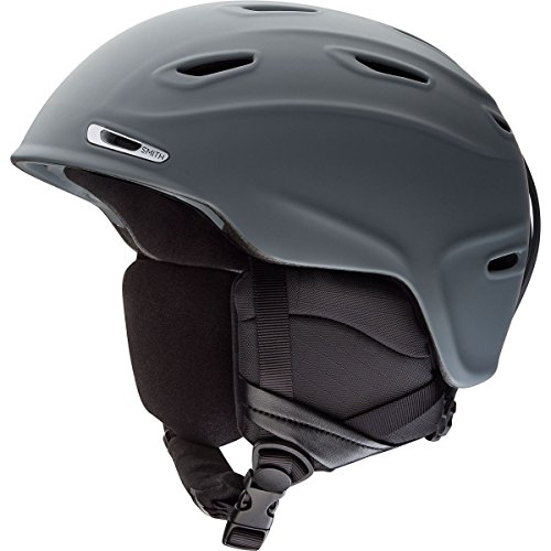 Smith Optics Unisex Adult Aspect Snow Sports Helmet - Matte Charcoal Medium (55-59CM) (Helmet Snow)