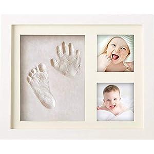 BraceTek Cornice Bambini Impronte Argilla, Kit Neonato Cornice per dei Piedini e delle Manine dei Bebé-Un ricordo di… 41FwLiNes1L. SS300