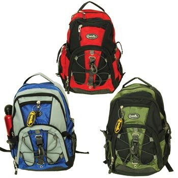 Rugged Outdoor Backpack (1-pc Random Color) (Heavy Duty Material), Outdoor Stuffs