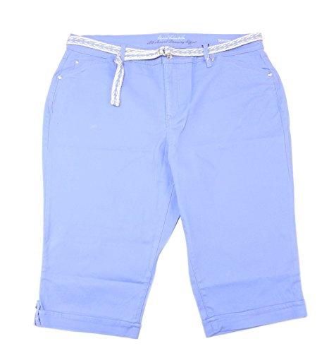 Gloria Vanderbilt Capri Pants (Gloria Vanderbilt Womens Size 18W Lillian Skimmer Capri Pants, Spring Hydrangea)