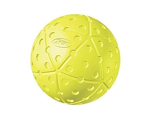 Atec HI Per X-ACT Baseballs and Softballs Optic Yellow Pack of 12