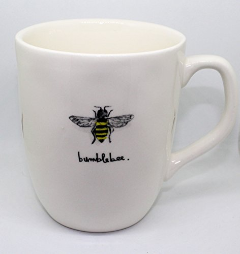 Bumble Bee Mug - Rae Dunn by Magenta Bumblebee coffee tea mug with Bumble Bee pictured