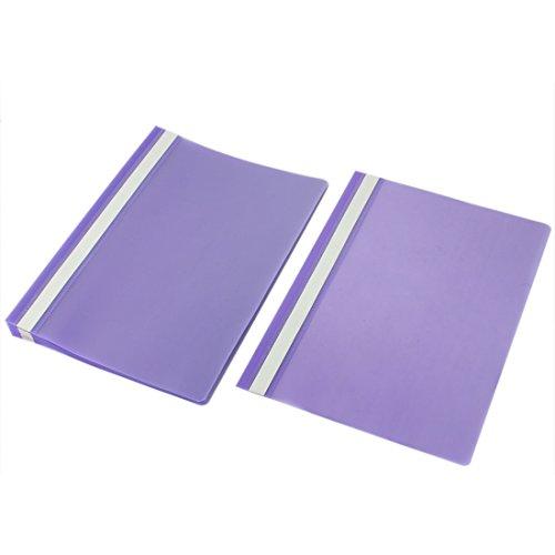 Uxcell Plastic A4 Paper Document File Bag Folder Holder O...