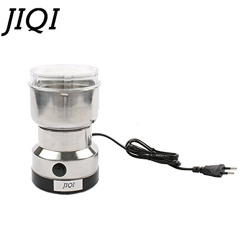 MINI coffee bean grinders Stainless steel Household electric coffee grinding machine Quick Coffee travel mill pulverizer EU plug by JIQI