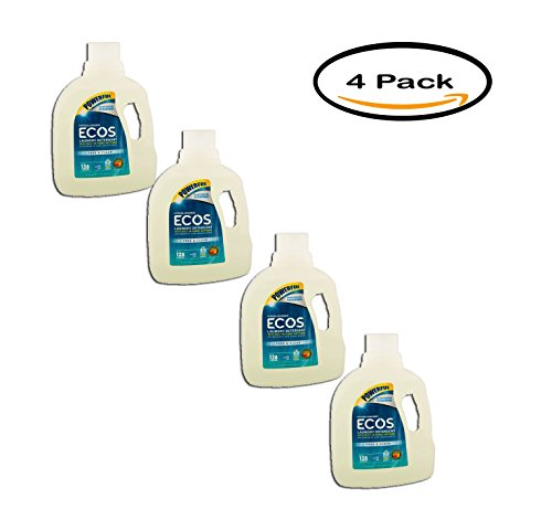 (PACK OF 4 - ECOS Liquid Laundry Detergent Free & Clear, 128oz)