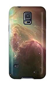 New Nebulae Sky Tpu Case Cover, Anti-scratch YmBocBy7089GIxWZ Phone Case For Galaxy S5