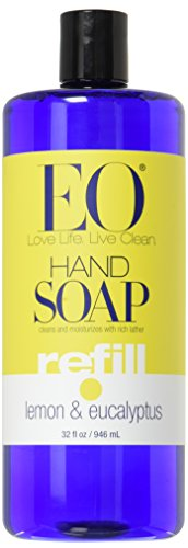 EO PRODUCTS HAND SOAP REFILL,LMN&EUCL, 32 FZ