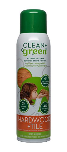 Hardwood and Tile Cleaner, Natural Stain Remover and Odor...