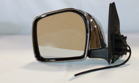 NEW DOOR MIRROR PAIR FITS TOYOTA 01-04 TACOMA CHROME POWER W//O HEAT 70039T 70040T TO1321159 70039T TY36ER 87910-35840
