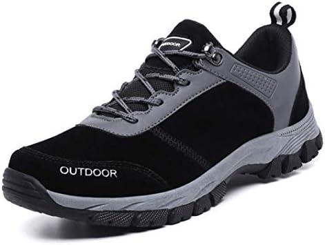 メンズブーツ トレッキングシューズ メンズ ローカットブーツ 防滑 アウトドア ハイキングシューズ 大きいサイズ 登山靴 ウォーキングシューズ キャンプ ブラック 26.0cm シューズ 軽量 幅広 春 夏 カジュアル スニーカ 耐磨耗