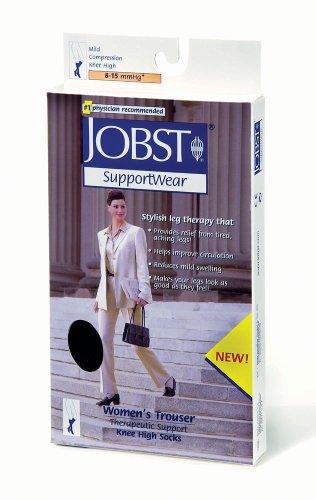 - Jobst Women's Light Support Solid Trouser Socks, Pair