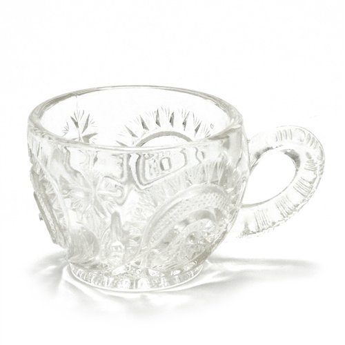 - Pinwheel & Stars by Smith Glass Co, Glass Punch Cup