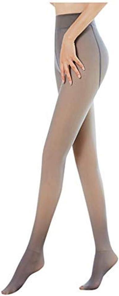 Carrymee Damen Thermo Strumpfhosen Gef/üttert Dicke Schlank Stretchy Strumpfhose Winter Freien Leggings Makellose Beine Durchscheinende Warme Fleece-Strumpfhose
