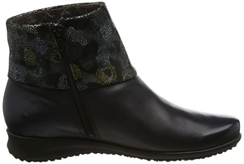 Mephisto Womens Fiducia Navy Leather Boots 38 EU