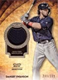 #10: 2017 Topps Tier One Relics #T1R-DS Dansby Swanson Game Worn Atlanta Braves Jersey Baseball Card from Rookie Season - Only 331 made!