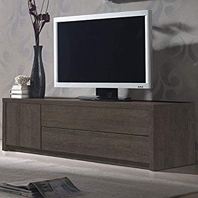 NOUVOMEUBLE ESCAUT 2 - Mueble para televisor, Color Roble ...