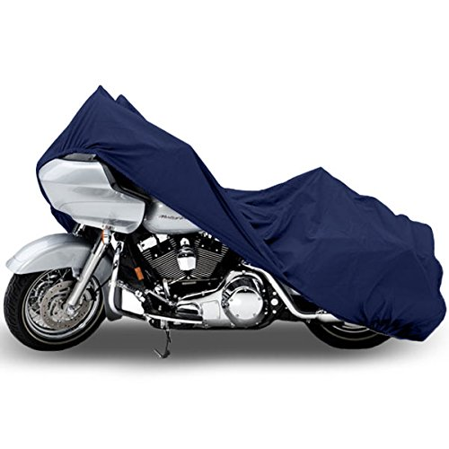 Motorcycle Bike Cover Travel Dust Storage Cover For Yamaha V-Star 950 1100 1300 Classic Stryker