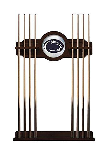 NCAA Pool Cue Rack by Holland Bar Stool, English Tudor - Penn State University - Penn State Bar Stools
