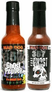 Mad Dog 357 Ghost Hot Sauce & Mad Dog 357 Pure Ghost by N/A