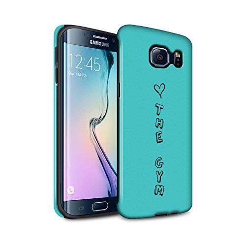 amare amore cover Samsung Galaxy plus Scarpe Telefono Blu cuore cassa La  Palestra Custodia Disegno S6 ... 3bef43a1113