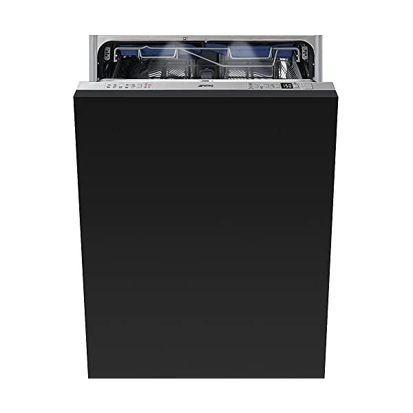 Smeg 24 Inch Built In Fully Integrated Dishwasher with 10 Wash Cycles, 13 Place Settings, Water Softener, in Panel Ready 1