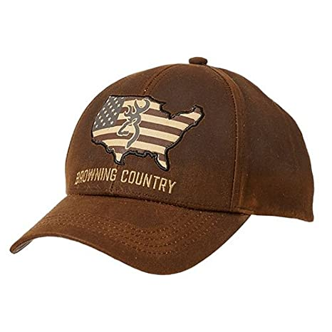 new style 9b160 cb9d4 Amazon.com  Browning 308776981 Cap, Country Wax  Sports   Outdoors