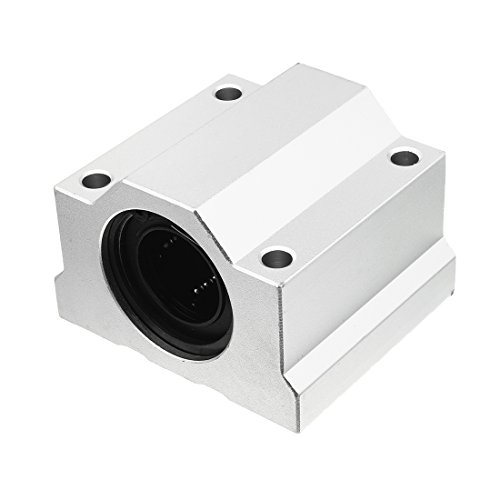 uxcell SCS25 LM25UU 25mm Inside Dia Linear Motion Ball Bearing Slide Bushing Block