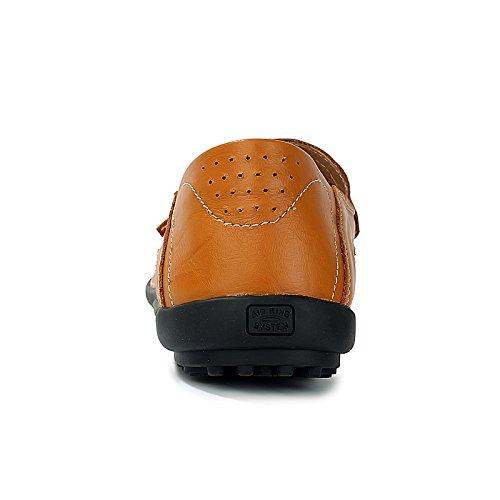 Reino e marrón en Unido informales 6 CFP color Elegantes hombre para 8159 Mocasines 5 conducir inteligentes de el para Mocasines wnq6qaOX