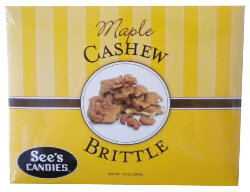 Treat See (See's Candies 10 oz. Maple Cashew Brittle)