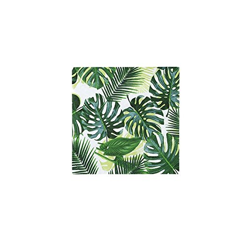 Luau Party Hawaiian Theme Party Supplies Palm Paper Cocktail Napkins Pk 40