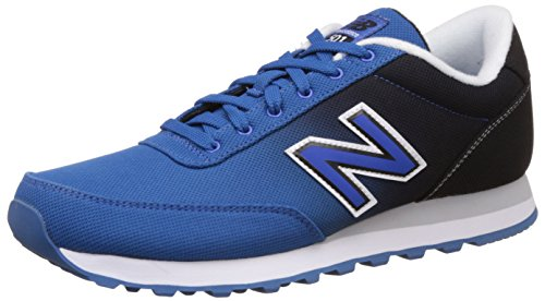 New Balance Men's 501 Modern Classics Fashion Sneaker, Blue/Black, 11 D US