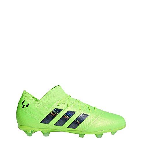 adidas Nemeziz Messi 18.1 Kid's Firm Ground Soccer Cleats (5 M US) Green ()