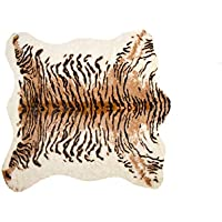 Luxe FAUX COWHIDE RUG/THROW 4 1/4' X5' TIGER