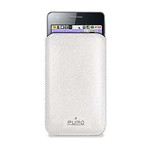 Puro PUFM127 - Funda para Samsung Galaxy S II I9100, color blanco
