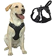 Dog Harness for Walking and Running Dog Chest Harness with Front Clip Pet Durable and Indestructible Harness for Large and Big Dogs
