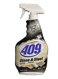 Formula 409 30722 Stone and Steel Cleaner, 32 fl oz Spray Bottle